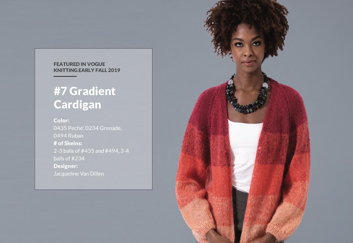 #7 Gradient Cardigan